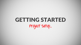 Setting up the Project Information Sheet Video Tutorial